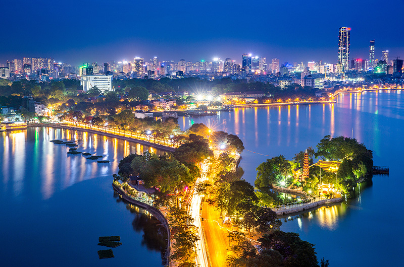 West lake Ha Noi